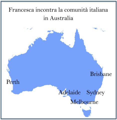 mappa australia