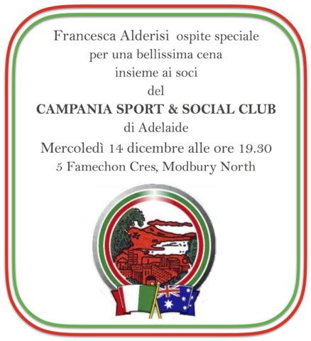 08 Cena Adelaide campania club