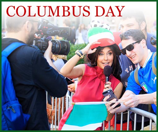 Francesca Alderisi al Columbus Day
